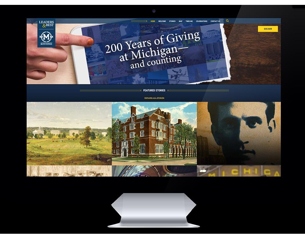 Leaders & Best Bicentennial Website