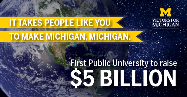 First public university to raise $5 billion