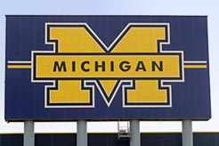 The University of Michigan Stadium